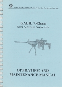 IMI Galil Sniper Manual 7.62 Operating and Maintenance Manual